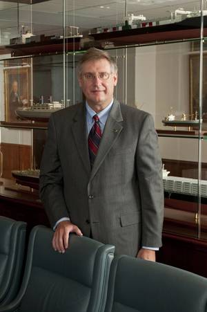 ABS Chairman, President and CEO Christopher J Wiernicki
