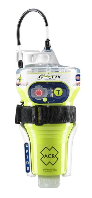 GlobalFIX V4 EPIRB (Image: ACR Electronics)