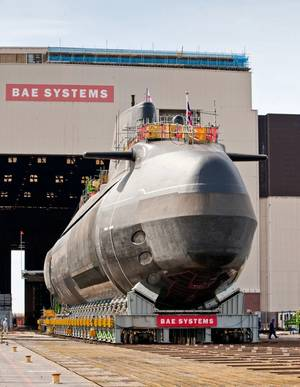 Submarine construction: Photo A&P