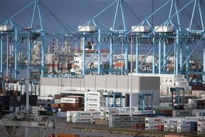 Container terminal photo courtesy of APM