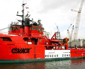 Offshore Service Vessel: Image courtesy of ASL