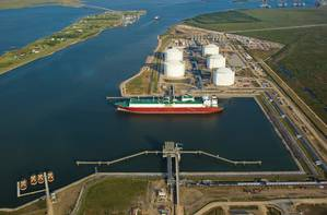 Photo: Golden Pass LNG Terminal