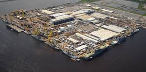 Ingalls Shipbuilding yard in Pascagoula, Miss. (File photo: HII)