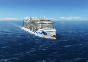 AIDAs new cruise ship representation: Image courtesy of TGE Marine