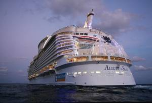 Allure of the Seas: Photo credit RCI