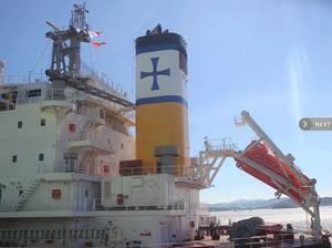 Bulk Carrier Amphitrite: Photo credit Diana Shipping