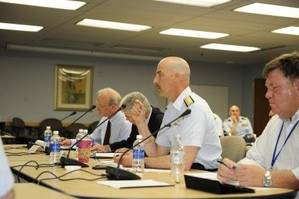 Arctic Spill Seminar: Photo credit USCG
