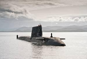 Astute-class submarine: Photo courtesy of Northrop Grumman