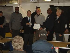 S.S. Wright Award: Photo credit Crowley