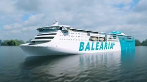 Baleàrias new RoRo passenger ferry (Image: Wärtsilä)