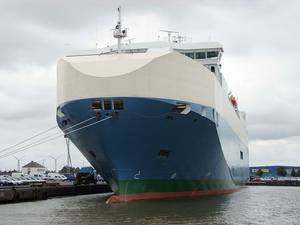 RoRo Baltic Ace: Photo credit Wiki CCL 2