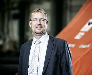Benny Carlsen, VP Offshore, Viking Life-Saving Equipment