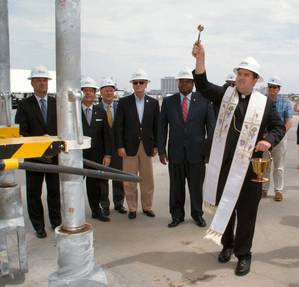 Blessing of Cranes (Photo: Port of Gulfport)