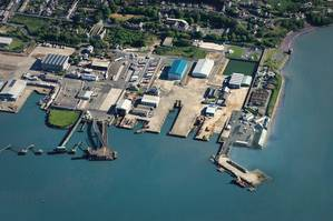 Pembroke Dock on the Milford Haven Waterway (Photo: Mainstay Marine Solutions)