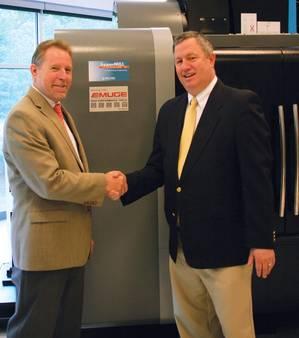 Bob Hellinger + Alan Levine (Photo: Emuge Corp)
