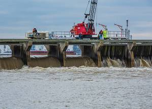 Bonnet Carre' Spillway Operation