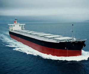 Bulk carrier: File photo CCL
