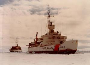 USS Burton Island (AGB-1). USCG photo