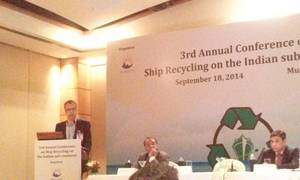 Presentation at the 3rd Conference on Ship Recycling