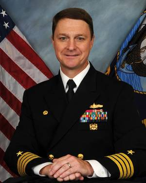 Capt. Gregg Baumann,  Director of Ocean Engineering, Supervisor of Salvage and Diving (SUPSALV)
