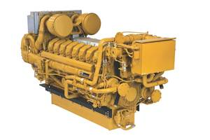 Cat C175 engine: Image Caterpillar Marine