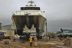 134-feet multi-mission, survey catamaran for Lafayette, Louisiana-based, C&C Technologies.