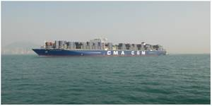 CMA CGM Kerguelen (Photo: HAROPA)