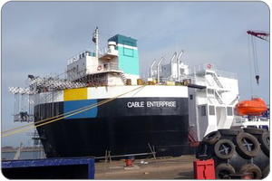 Cable Enterprise: Photo credit Global Marine