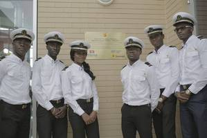 Cadets at the Maritime Training Center