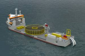 Artists Impression courtesy of Caley Ocean Systems
