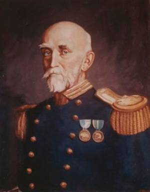 Capt. Alfred Thayer Mahan. Artist: H. Peterson after Alexander James. (Photo: U.S. Naval History & Heritage Command)