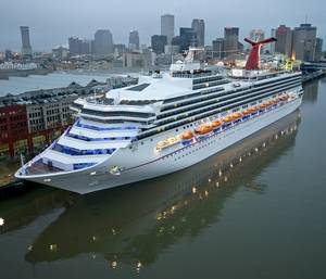 Carnival Sunshine in New Orleans