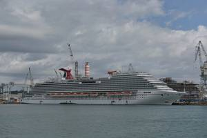 Carnival Vista is the largest ship ever built for the Carnival Cruise Line's fleet Photo Fincantieri