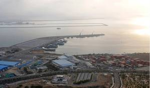 Chabahar Port. Photo: Ports & Maritime Organization Iran