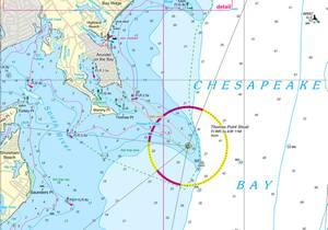 Nv-Charts has produced new chart regions for Chesapeake Bay (Photo: Nv-Charts).