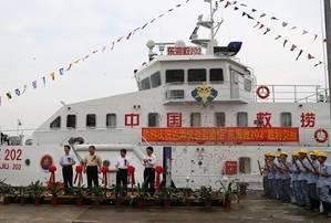 Rescue Vessel Delivery Ceremony: Photo courtesy of Alfai