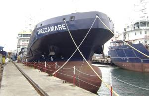The Turkish shipbuilder Çiçek Shipyard has delivered to Italian owners the second of four 3,100 dwt chemical tankers that it is building.  Named Brezzamare, she is expected to be employed in the bunker trades. (Photo courtesy Dunelm Public Relations)