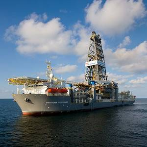 Clear Leader: Photo courtesy of Transocean
