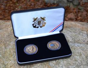 The Douglas Munro Commemorative Challenge Coin Set