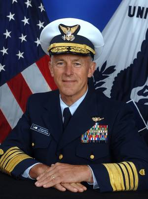 U.S. Coast Guard Commandant, Adm. Paul Zukunft