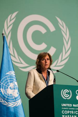 Connie Hedegaard, European Commissioner for Climate Action (Photo courtesy of the European Commission)