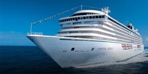 File photo of Crystal Serenity (Courtesy Crystal Cruises)
