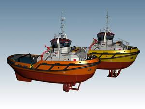 OSD's new series of tractor tugs are suited to perform variety of operations (Image: OSD)