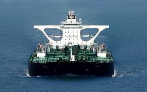 VLCC Tankship DHT Ann: Photo courtesy of DHT