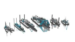 The DSC Dredge lineup (Image: DSC Dredge)