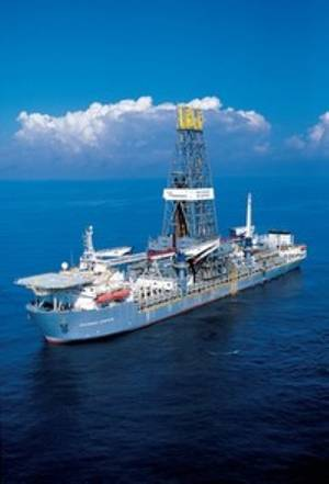 Transocean deepwater liftboat: Photo courtesy of Transocean