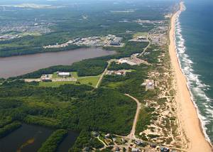 Dam Neck Annex at Naval Air Station Oceana, Virginia Beach, Va. Navy photo