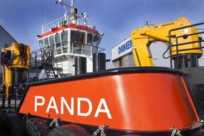 Damen MultiCat 2712 Panda (Photo: Damen Shipyards)
