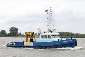 Damen Shoalbuster 2308, named Al Marfa 1