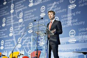 Danish Crown Prince Frederik (Photo: Danish Maritime Days)